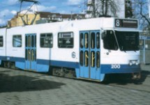 Gothenburg tramcar braking resistor