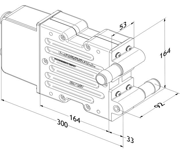 EV resistor dimensions